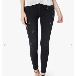 NWT Joe's Jeans x Stephanie Gottlieb Black Jeans
